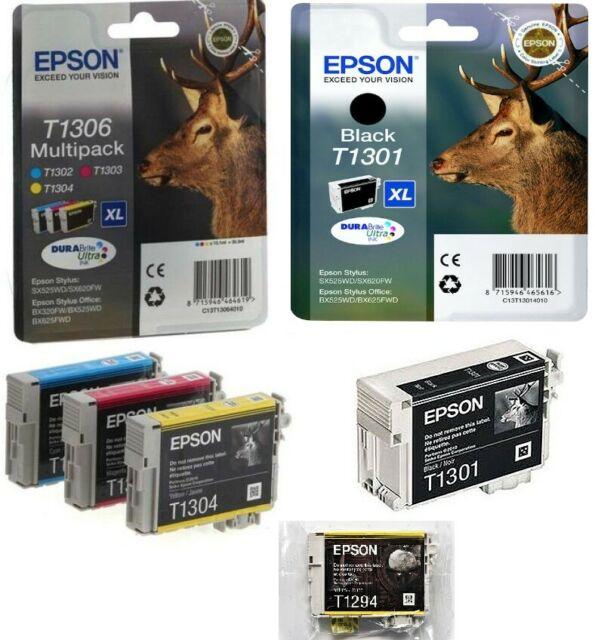 Cartucce Epson T, T, T nuove sigillate