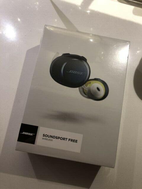 Cuffie BOSE SoundSport Free - nuove