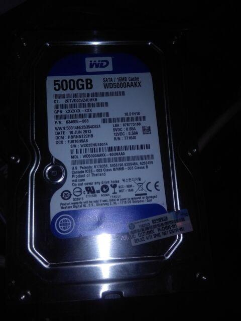 Hard disk wd 500 gb pari a nuovo