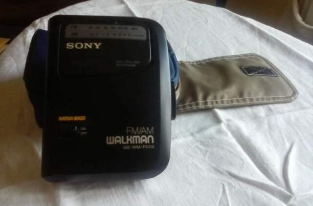 Wolkman Sony WM-FX113 Portatile FM / AM Radio Cassetta