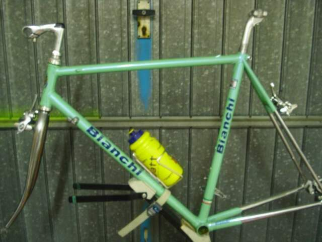 Telaio bici corsa E. Bianchi anni 80 vintage