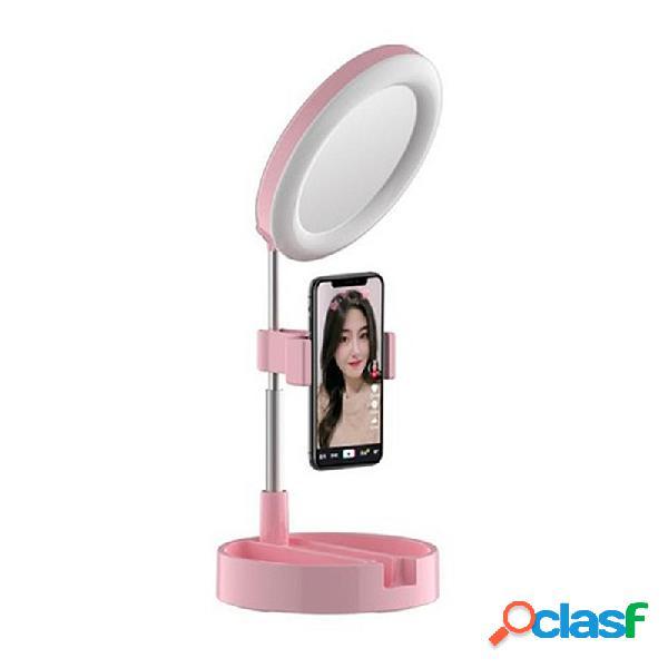 3 in 1 dimmerabile LED Anello luminoso 6 Pollici Specchio