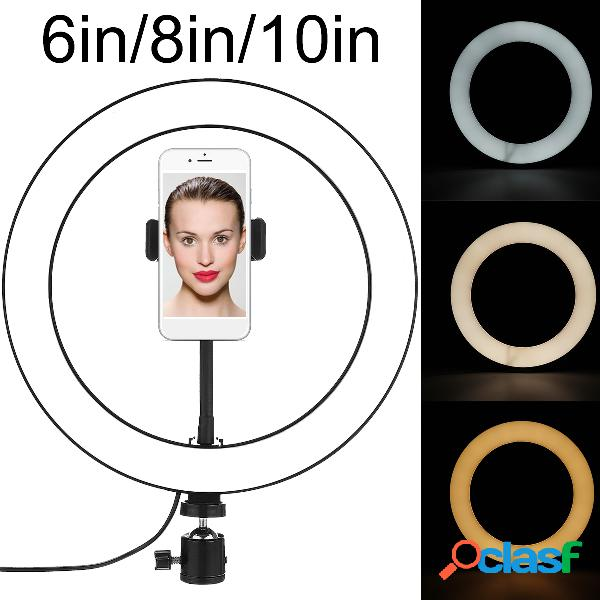 6 8 10 Pollici LED Ring Light Beauty Selfie Fill Light