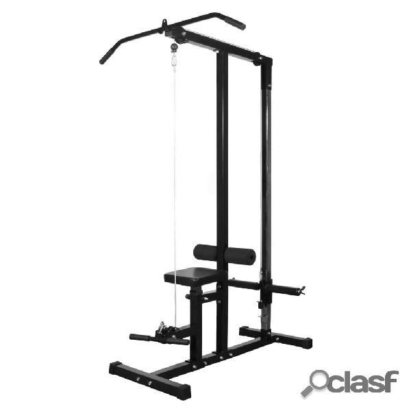 vidaXL Panca Multifunzione Home-Fitness senza Pesi Palestra