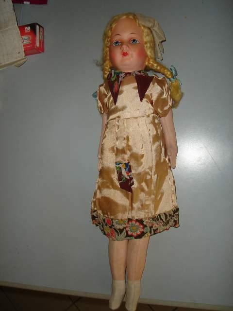 Antica Bambola Tedesca primi anni 40
