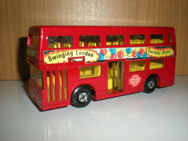 Modellino Matchbox Superking bus the londoner k-15 anni 70