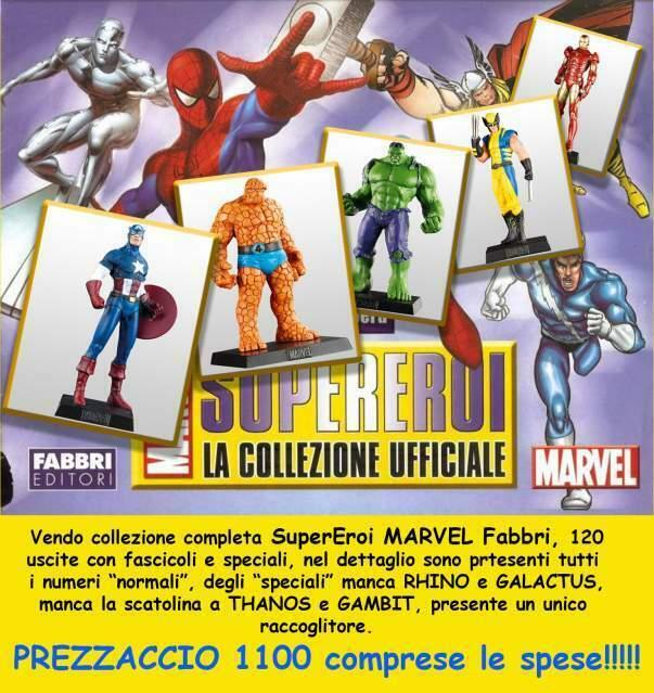 """Super eroi marvel fabbri editori collezioni """"completa"""""""