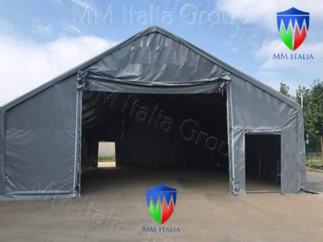 Capannoni tunnel mobili a milano 12 x 8 x 5,12 olimpo