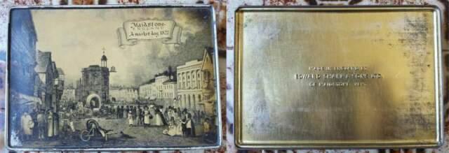 Scatola di latta vintage da collezione  MADE IN ENGLAND