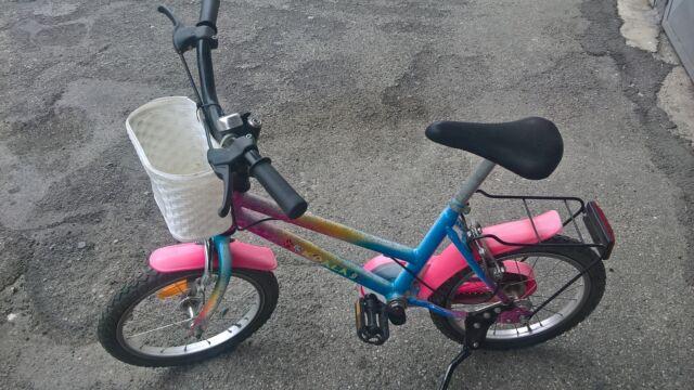 "Bici bicicletta bimba bambina telaio acciaio ruota 16"""