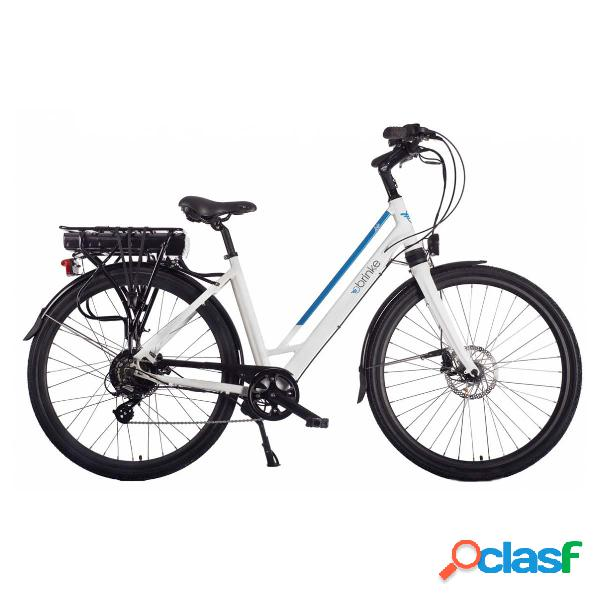 City bike elettrica Brinke Life Comfort da donna (Colore: