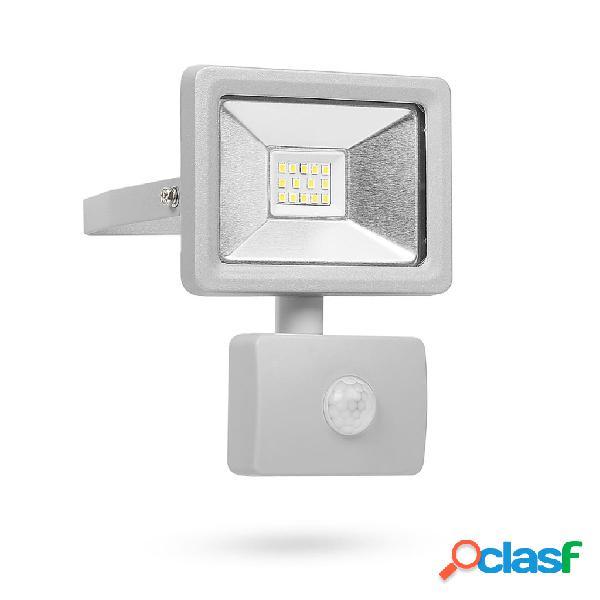 Smartwares Luce di Sicurezza a LED con Sensore 10 W Grigio