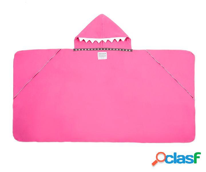 Telo Mare Shark Swim Maxi Rosa Personalizzato