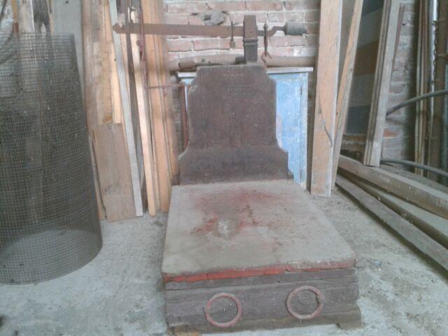 Basculla - erpici in ferro e legno - altro
