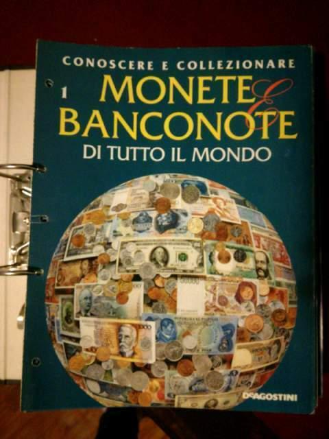 Collezione monete e banconote di tutto il mondo