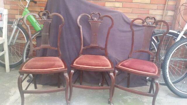 Deliziose quattro sedie inglesi fine '800