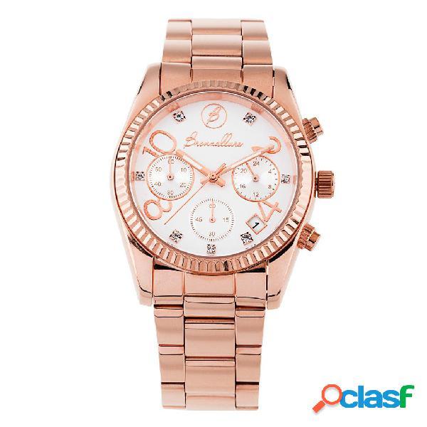 Orologio Donna Indici Senses   ROSE GOLD / ONE SIZE - WHITE