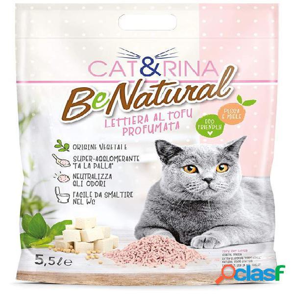 Rinaldo cat&rina lettiera per gatti l 5.5 benatural tofu