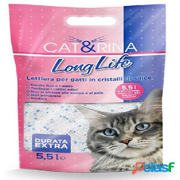 Rinaldo cat&rina lettiera per gatti l 5 longlife cristalli
