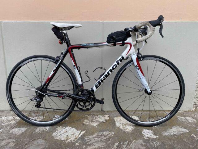 Bici da corsa in Carbonio Bianchi B4P, Ultegra 10V