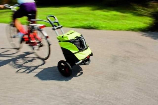Carrellino appendice rimorchio BELLELLI TOURIST per bici