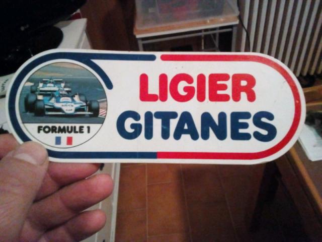 Adesivo anni 80 da collezione LIGIER GITANES