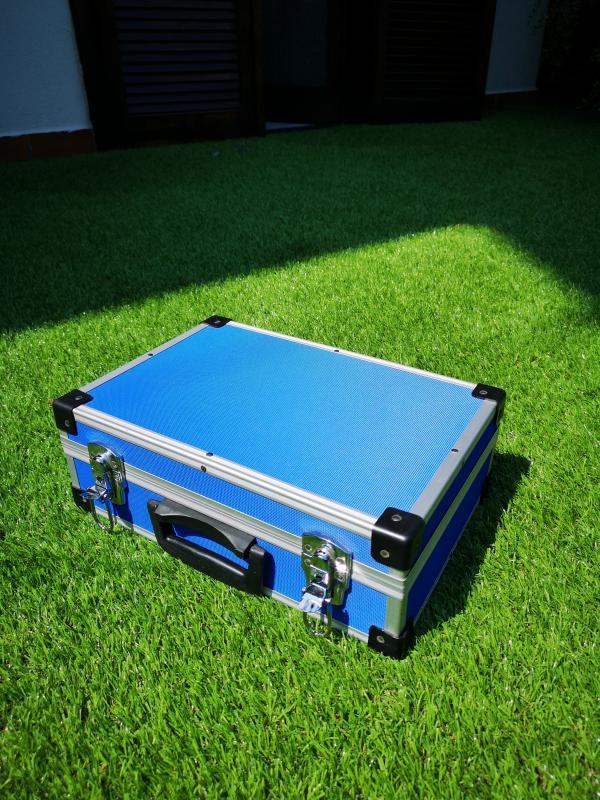 Valigia in alluminio per modellismo