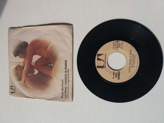 Disco 45 giri colonna sonora film Ultimo tango a Parigi