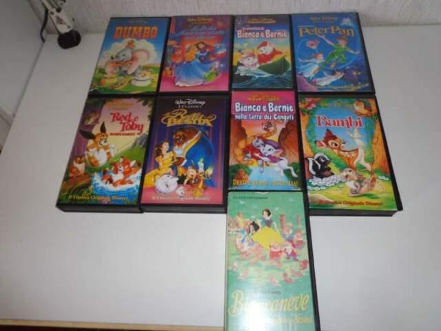 Film Cartoni animati Disney VHS (videocasette)