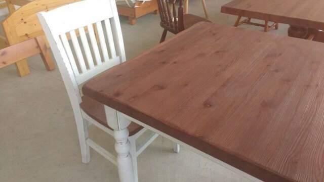 Set tavoli e sedie completi per ristorazione pino massello