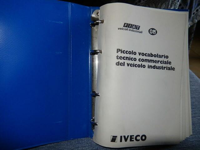 Om iveco: vocabolario tecnico vintage  veicoli