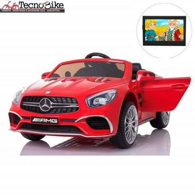 Auto Macchina Elettrica Per Bambini Mercedes SLV 2