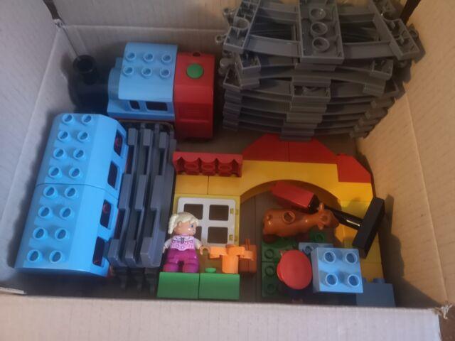 MEGA SET Lego treno duplo e binari set vari