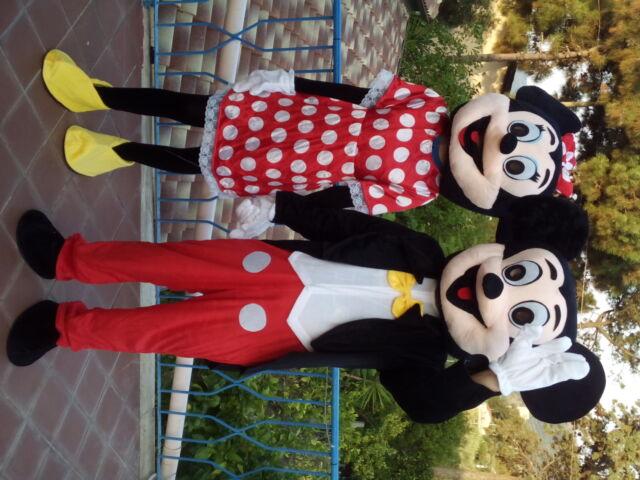Noleggio Mascotte Topolino e Minnie