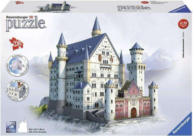Puzzle 3D Castello di Neuschwanstein