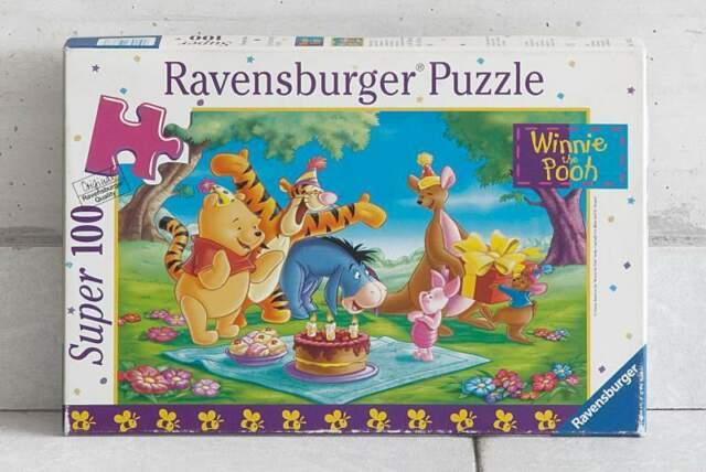 Puzzle Winnie The Pooh - 100 Pezzi - Ravensburger Puzzle