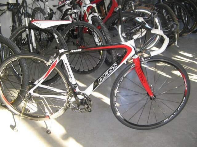 Bici da corsa mass tg.54 carbonio,SHIMANO duraAce,