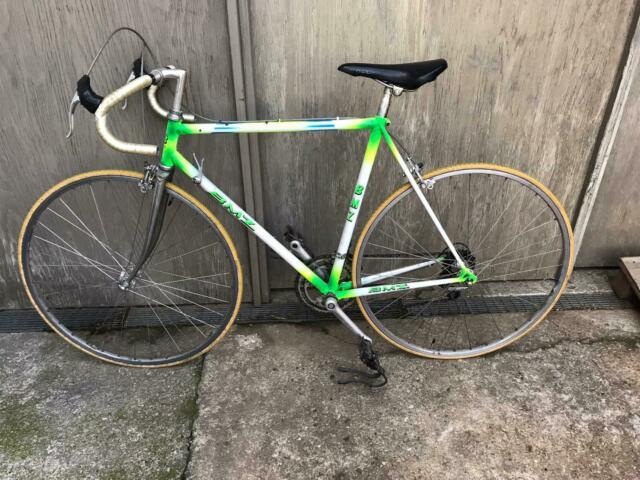 Bicicletta da corsa BMZ vintage anni 80