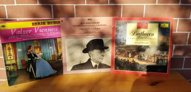 26 LP Musica Classica originali vintage