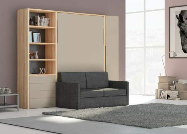 Letto a scomparsa a roma top con divano-letti