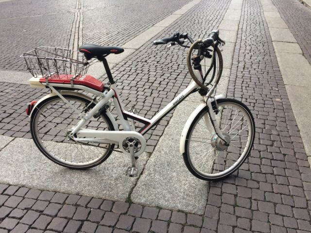 Bicicletta elettrica, City Pearl Ducati by Italwin cambio xr