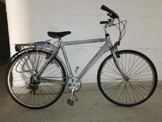 """City bike da uomo 28"""" alluminio 6 velocitÀ bicicletta usata"""