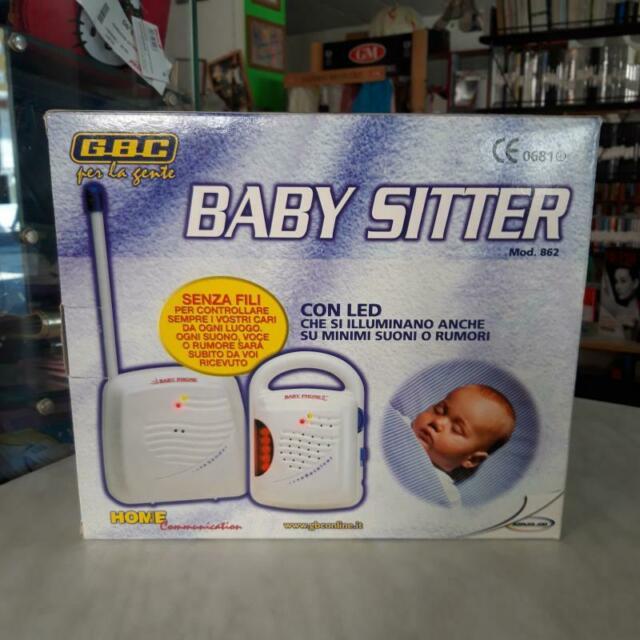 Baby monitor audio babysitter gbc