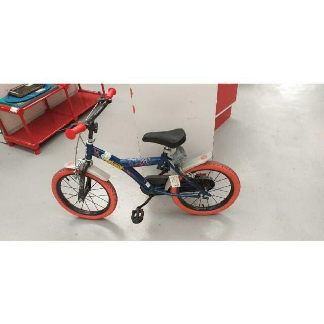 Biciclettina bambino spider man