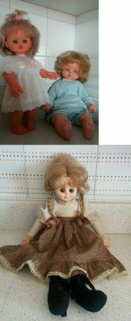 Lotto 3 bambole vintage furga e damina zanini zambelli