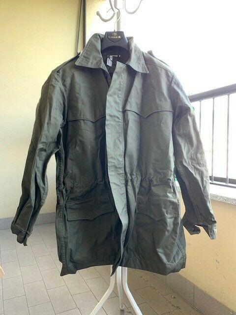 Impermeabile tg 50 e giaccone tg 48r con cappuccio esercito