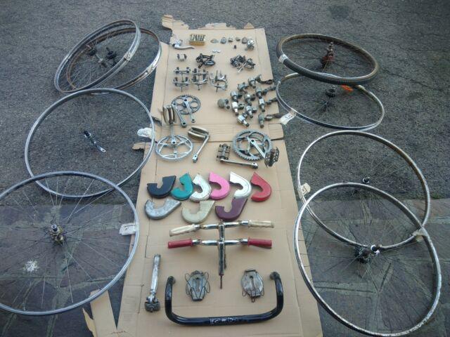 Componentistica bici Bianchi, Legnano, Ganna, Torpado etc.