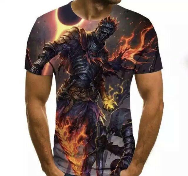 T-Shirt 3D stampa t Shirt Casual Traspirante