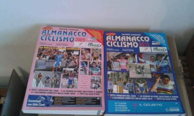 Almanacchi del Ciclismo e rivista su centenario Giro