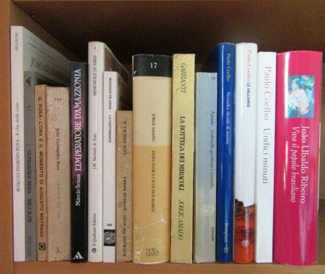 Lotto 15 libri narrativa di autori brasiliani SPEDIZIONE